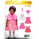 Baby Dress Four Sizes In One Simplicity New Look Sewing Pattern 6925