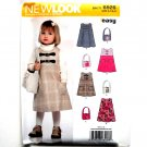 Kids Toddlers Jumper Purse Simplicity New Look Sewing Pattern 6926