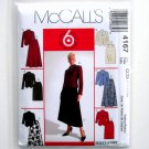 Misses Petite Unlined Jackets Skirts 10 12 14 16 McCalls Sewing Pattern 4167