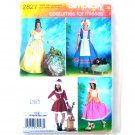 Misses & Dog Halloween Costumes 14 - 20 Simplicity Sewing Pattern 2827