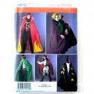 Mens Halloween Costumes XS S M Simplicity Sewing Pattern 2499