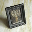 Tree In The Woods Needle Felted Original Fiber Art Hand Crafted