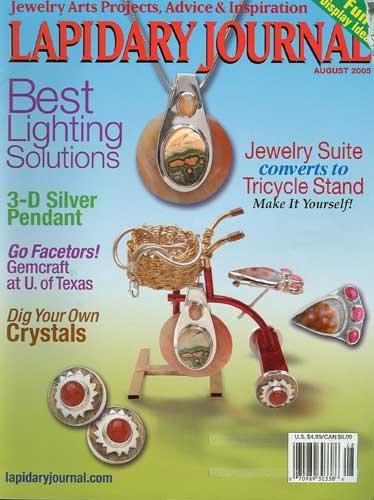 Lapidary Journal Magazine August 2005