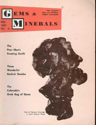 Gems & Minerals Magazine February 1962