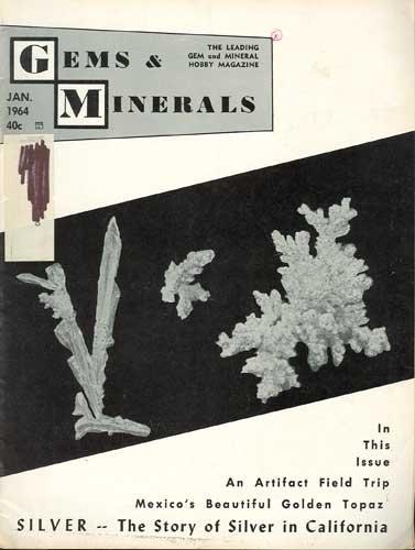 Gems & Minerals Magazine January 1964