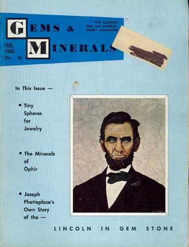 Gems & Minerals Magazine February 1963