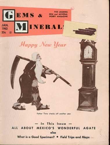 Gems & Minerals Magazine January 1963