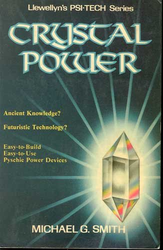 Crystal Power Book by Michael G Smith