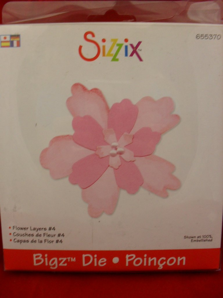 Sizzix Bigz Flower Layers #4 Die