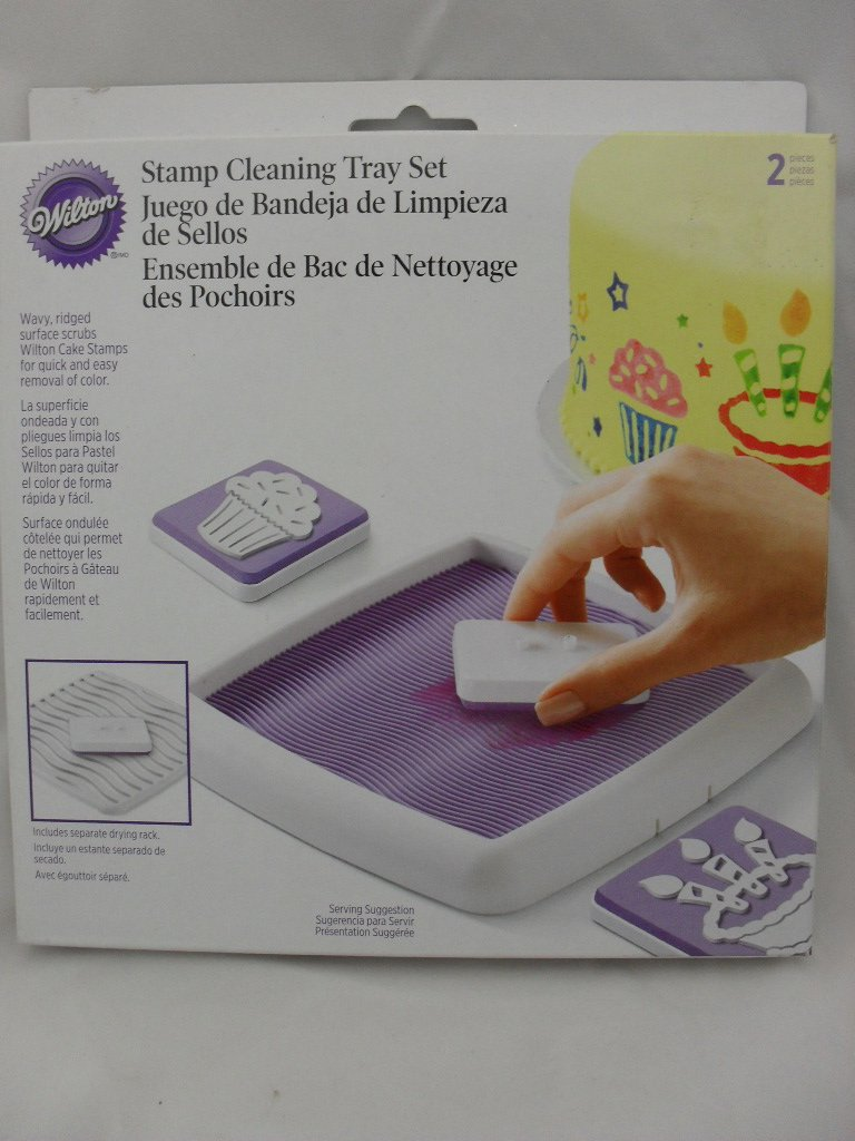 Wilton Stamp Cleaning Tray Set