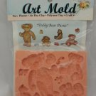 Sweetbriar Studio Flexible Art Mold - Teddy Bear Picnic