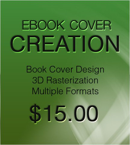 3D eBook Cover Creation