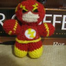"SUPER HERO Crochet doll: Fastest Man ""the Flash"""