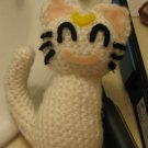 Sailor Moon crochet doll: Artemis