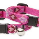 "Lupine ""Puppy Love"" Cat Safety Collar Adjustable 8 -12"""