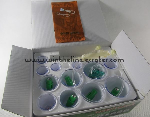 Cupping apparatus 12 cups vacuum cupping device/cupping product/cupping therapy Freeshipping