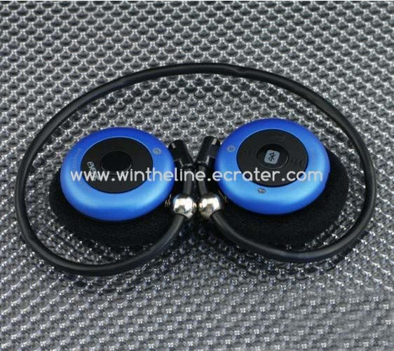 Evere T909S Bluetooth Wireless Stereo Headphone support A2DP Blue -- Freeshipping