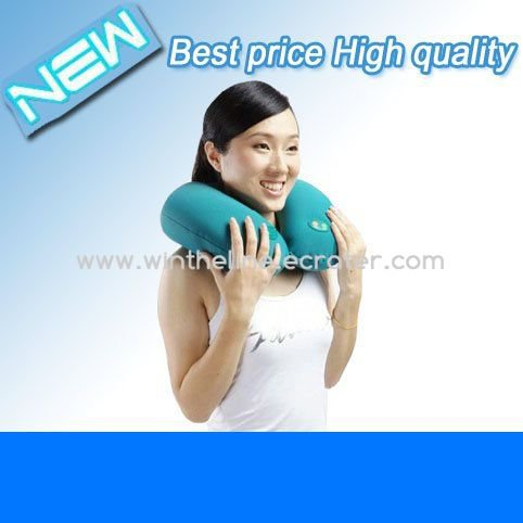 Electronic Neck Massager Pillow Strap Massage Electric Cervical Comfortable Freeshipping