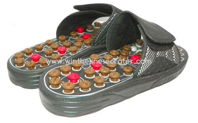 FASHION SHOES Massage slippers shoes pedicure shoes massager health spring rotating massage