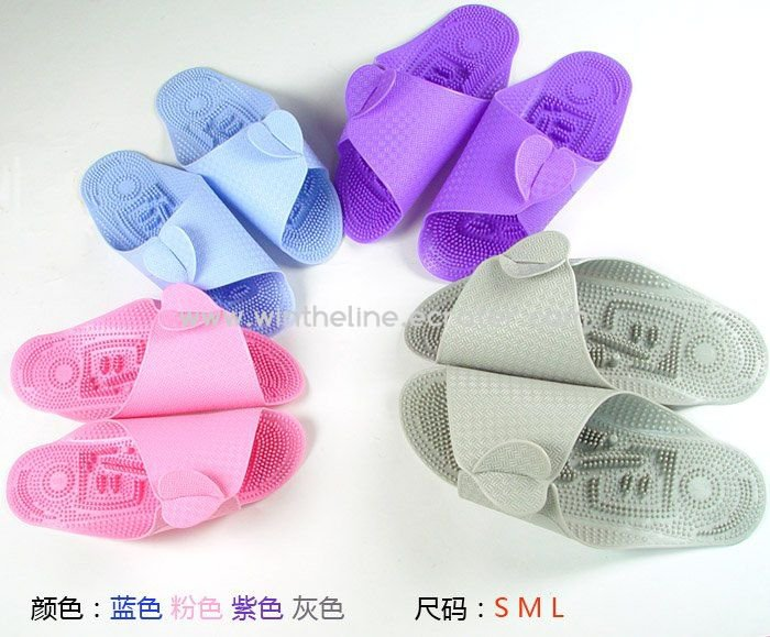 Free shipping Massager Slipper shoes plane-shape slippers,massaging slippers keep healthy