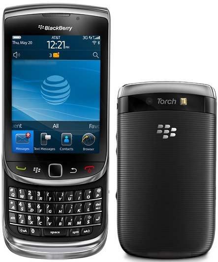 Blackberry Torch 9800 - Black