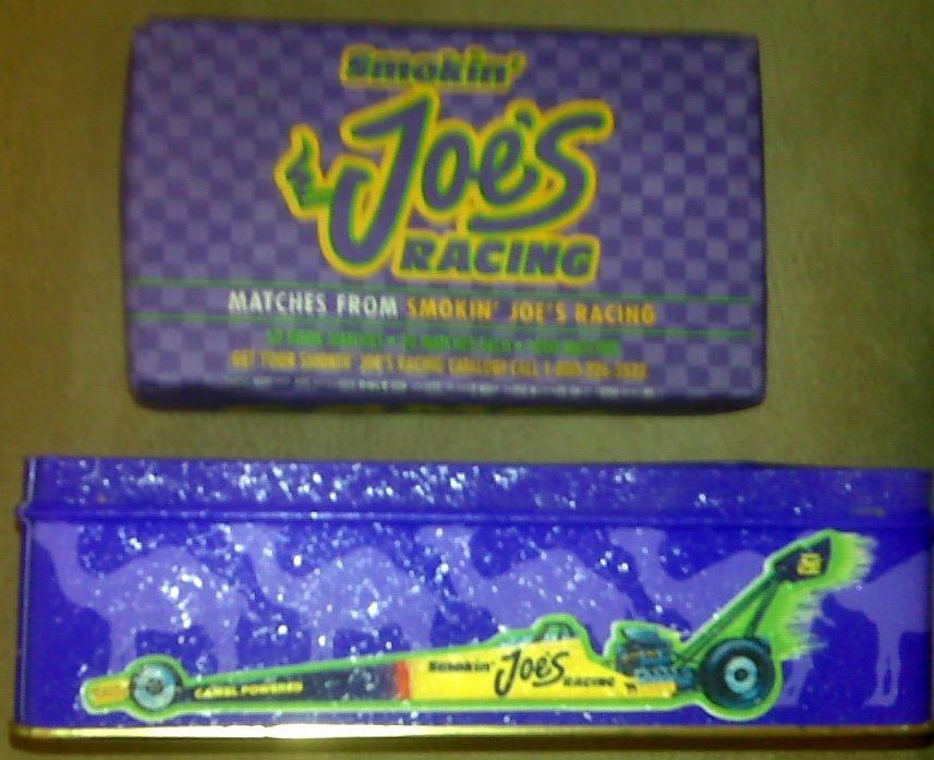 Camel Racing Tin with Matchbooks