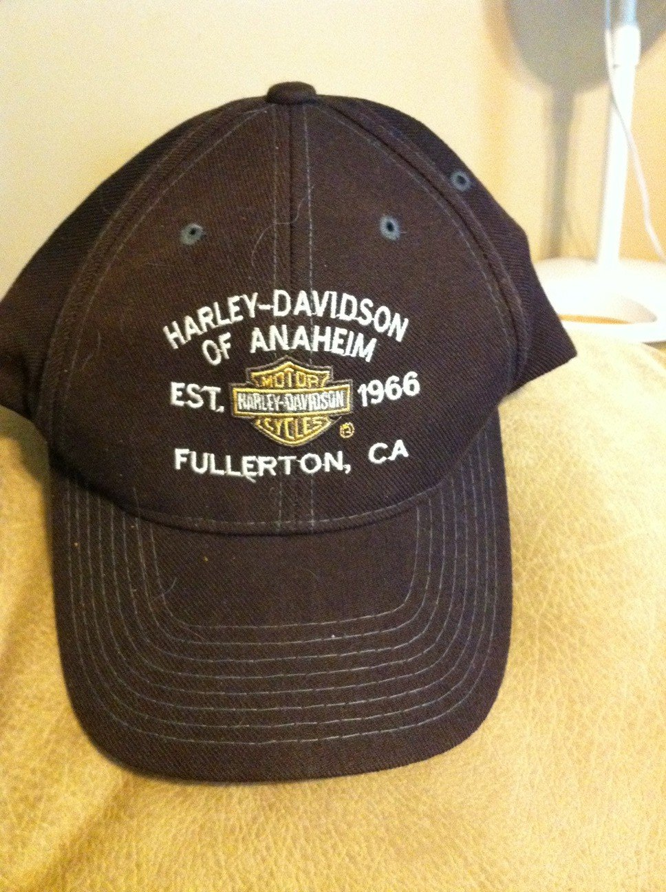 Dark Brown Harley Davidson Ball Cap