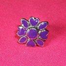 Enamel Flower Fashion Ring-Adjustable