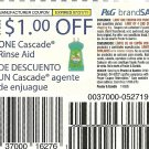 $1/1 CASCADE RINSE AID COUPONS exp. 7/31 - Lot of 20