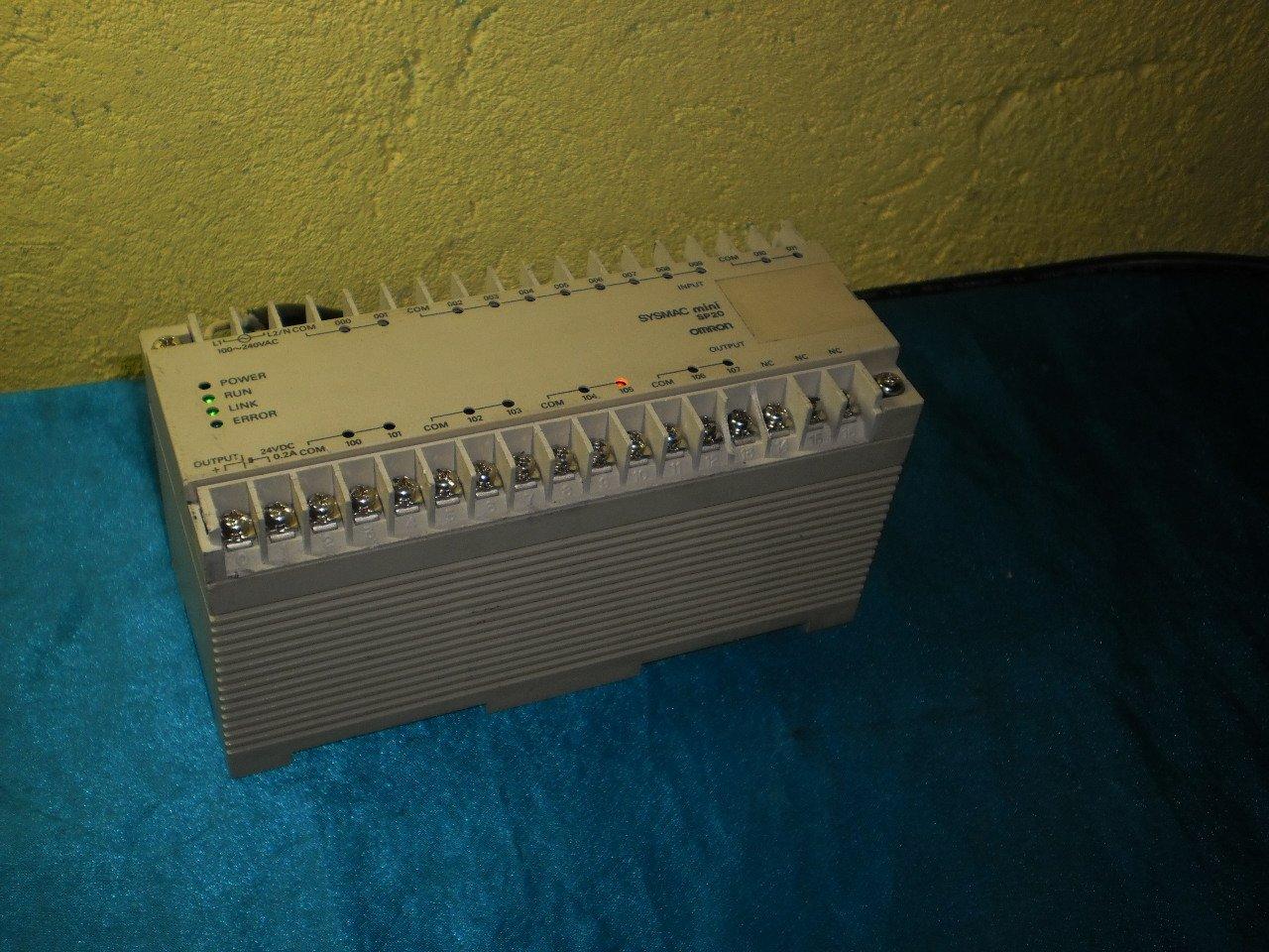 Omron Mini SP20  SP20-DR-A PLC