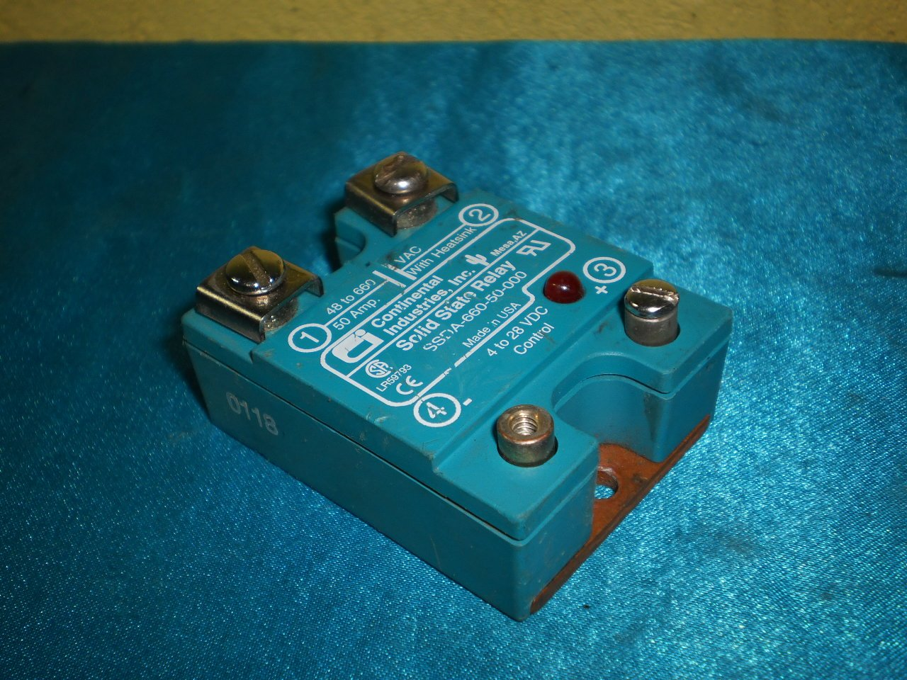 Continental Industry SSDA-660-50-000 Solid State Relay