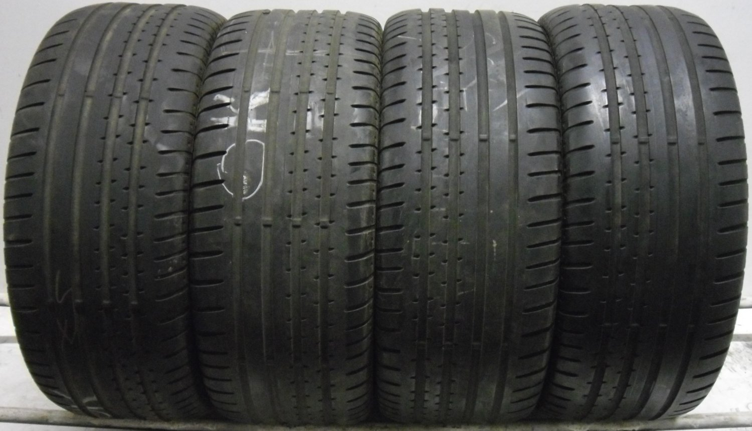 4 2454517 Continental 245 45 17 Sport Contact 2 Part Worn Used Tyres