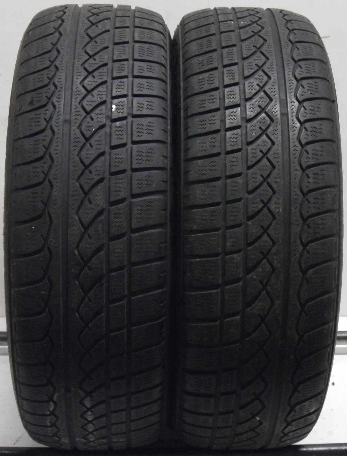 2 2056016 Yokohama 205 60 16 Winter Part Worn Car Tyres AVS x2 Two 4mm to 5mm