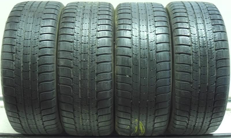 4 2055017 Michelin 205 50 17 Winter Mud Snow Part Worn Tyres Alpin PA2 x4 Four 4mm to 5mm