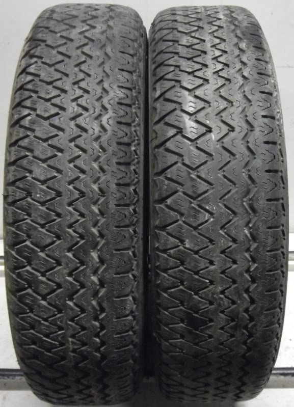 2 21515 Michelin 215 15 XVS Part Worn Used Tyres Classic Car x2