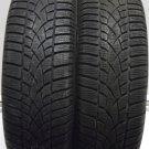 2 1956515 Dunlop 195 65 15 SP Winter Sport 3D Part Worn Used Mud Snow Tyres x2