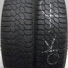 2 1856515 Dunlop 185 65 15 Mud Snow Winter Worn Used Tyres x2