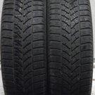 2 1756515 Bridgestone 175 65 15 Blizzak LM18 Winter Snow Cold Part Worn Used Tyres x2