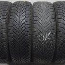 4 1856515 Semperit 185 65 15 Mud Snow Winter Part Worn Used Tyres x4