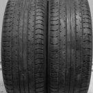 2 1955515 Yokohama 195 55 15 Advan A460 Part Worn Used Tyres x2