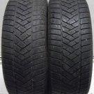 2 1956515 Dunlop m2 195 65 15 Winter Mud Snow Part Worn Tyres x2 91TR