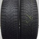 2 1956515 Dunlop 3d 195 65 15 Winter Mud Snow Part Worn Used Tyres x2 91TR