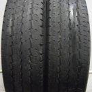 2 1957516 Continental 195 75 16 Vanco 8 Van Part Worn Used Tyres x2
