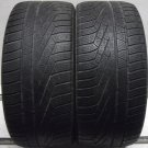2 2653520 Pirelli 265 35 20 Winter Ice Mud Snow Part Worn Tyres x2 Two