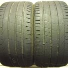 2 2953520 Pirelli 295 35 20 Pzero Part Worn Used Tyres x2 YR Rated