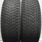 2 2158015 Bridgestone 215 80 15 Blizzak DM Z3 Part Worn Used Tyres x2