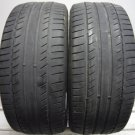 2 2454517 Michelin 245 45 17 Primacy HP ZP Runflat Part Worn Used Tyres x2
