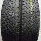 2 2358516 BFGoodrich 235 85 16 All Terrain T/A KO Baja Champion Part Worn Tyres