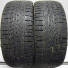 2 2655019 Pirelli 265 50 19 Winter Ice Mud Snow Part Worn Tyres 4x4 SUV x2 Two