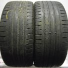 2 2453520 Goodyear 245 35 20 Eagle F1 Track Drifting Part Worn Used Tyres Drift